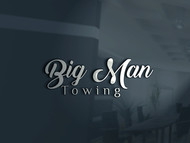 Big Man Towing Logo - Entry #72