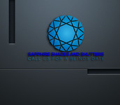 Sapphire Shades and Shutters Logo - Entry #86