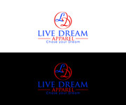 LiveDream Apparel Logo - Entry #244