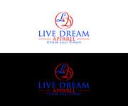 LiveDream Apparel Logo - Entry #244