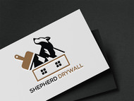 Shepherd Drywall Logo - Entry #149
