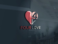 Four love Logo - Entry #119