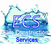 Elite Construction Services or ECS Logo - Entry #299