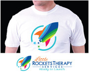 Little Rockets Therapy Services Logo - Entry #91