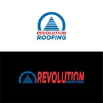 Revolution Roofing Logo - Entry #529