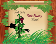 Pole in the Wine Country Retreat  Logo - Entry #8
