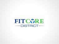 FitCore District Logo - Entry #157