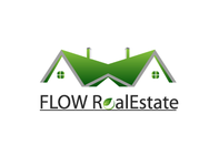 Flow Real Estate Logo - Entry #47