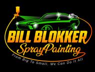 Bill Blokker Spraypainting Logo - Entry #176