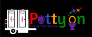 Potty On Luxury Toilet Rentals Logo - Entry #53