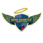 The Semi-Saintly Comedy Tour Logo - Entry #8