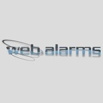 Logo for WebAlarms - Alert services on the web - Entry #123