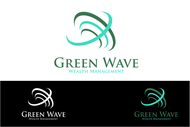 Green Wave Wealth Management Logo - Entry #370