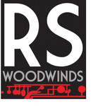 Woodwind repair business logo: R S Woodwinds, llc - Entry #57