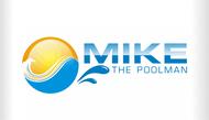 Mike the Poolman  Logo - Entry #47