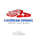 LiveDream Apparel Logo - Entry #461