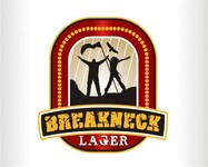 Breakneck Lager Logo - Entry #92