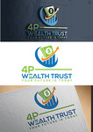 4P Wealth Trust Logo - Entry #361