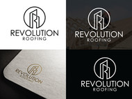 Revolution Roofing Logo - Entry #83