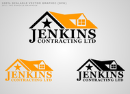 Jenkins Contracting LTD Logo - Entry #42