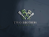 Two Brothers Roadhouse Logo - Entry #91