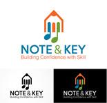 Note & Key Logo - Entry #59