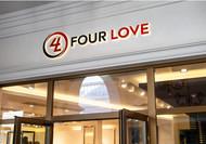 Four love Logo - Entry #163