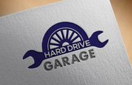 Hard drive garage Logo - Entry #70