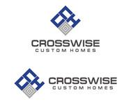 Crosswise Custom Homes Logo - Entry #33