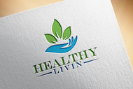 Healthy Livin Logo - Entry #606