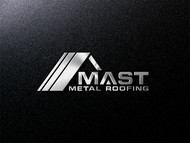 Mast Metal Roofing Logo - Entry #37