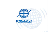 Logo for WebAlarms - Alert services on the web - Entry #148