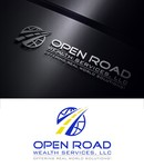 "Open Road Wealth Services, LLC  (The ""LLC"" can be dropped for design purposes.) Logo - Entry #103"