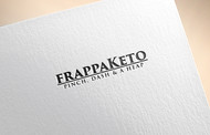 Frappaketo or frappaKeto or frappaketo uppercase or lowercase variations Logo - Entry #152
