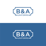 B&A Uniforms Logo - Entry #92
