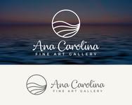 Ana Carolina Fine Art Gallery Logo - Entry #21