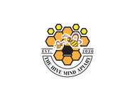 The Hive Mind Apiary Logo - Entry #76