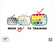 Move Up TV Training  Logo - Entry #39