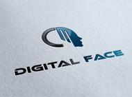 Digital Face Logo - Entry #2