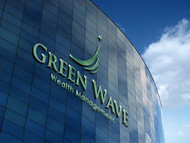 Green Wave Wealth Management Logo - Entry #156