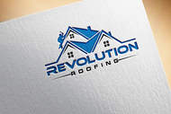 Revolution Roofing Logo - Entry #235