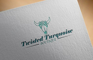 Twisted Turquoise Boutique Logo - Entry #97