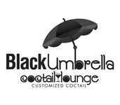 Black umbrella coffee & cocktail lounge Logo - Entry #203