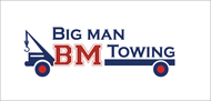 Big Man Towing Logo - Entry #110