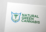 Natural Green Cannabis Logo - Entry #38
