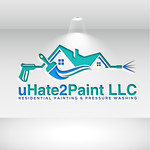 uHate2Paint LLC Logo - Entry #171