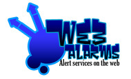 Logo for WebAlarms - Alert services on the web - Entry #4