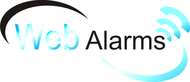 Logo for WebAlarms - Alert services on the web - Entry #15