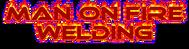 Man on fire welding Logo - Entry #42
