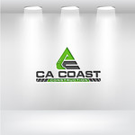 CA Coast Construction Logo - Entry #85